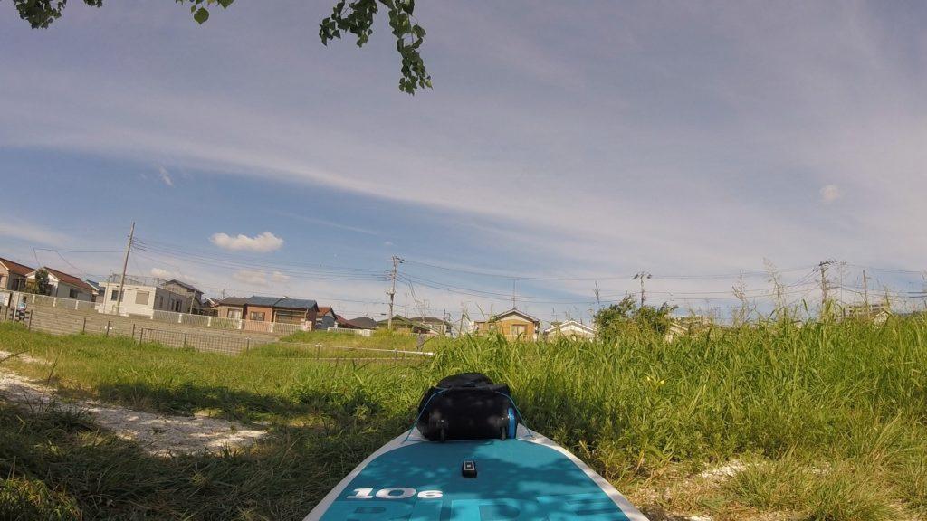 鶴見川河口、通称貝殻浜
