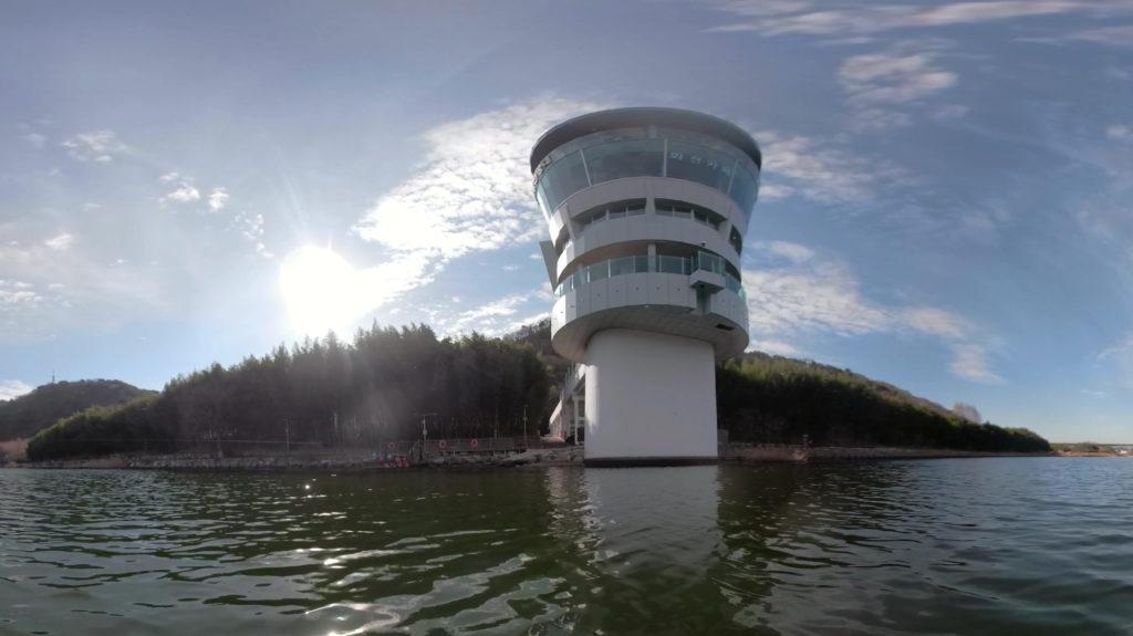 韓国の大和江(テファガン)を水上からGoProFusionで撮影