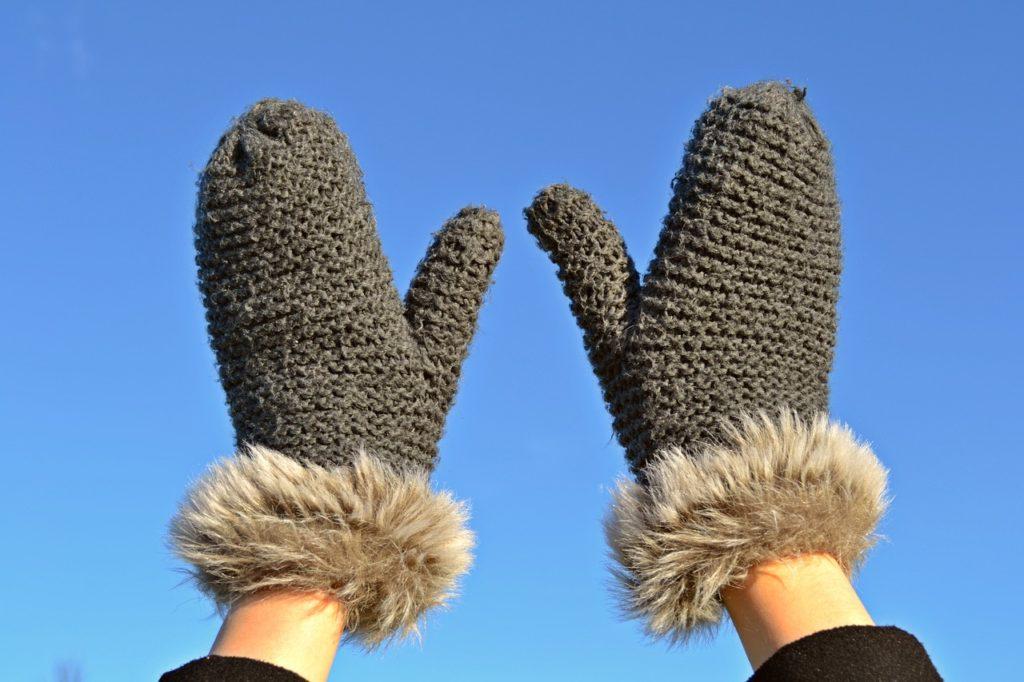 冬のSUP時の手袋