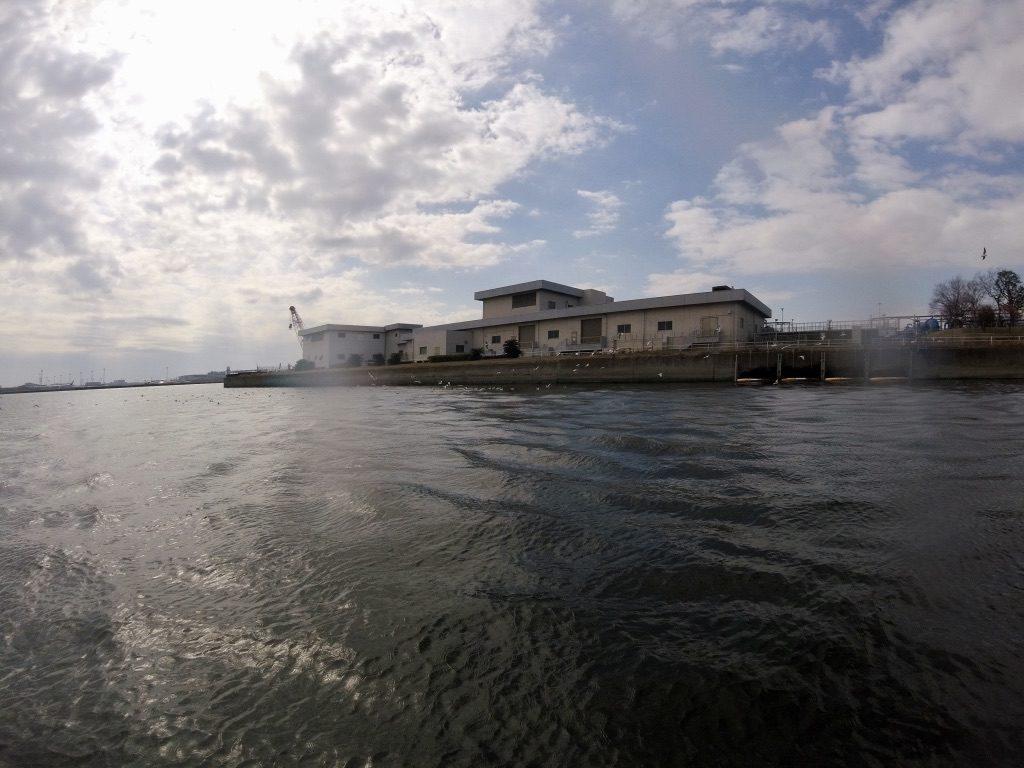 大田区の人工島、昭和島一周SUPツーリング