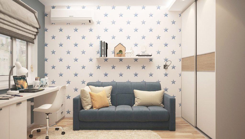 インフレータブルSUPを気軽に置ける部屋のイメージ