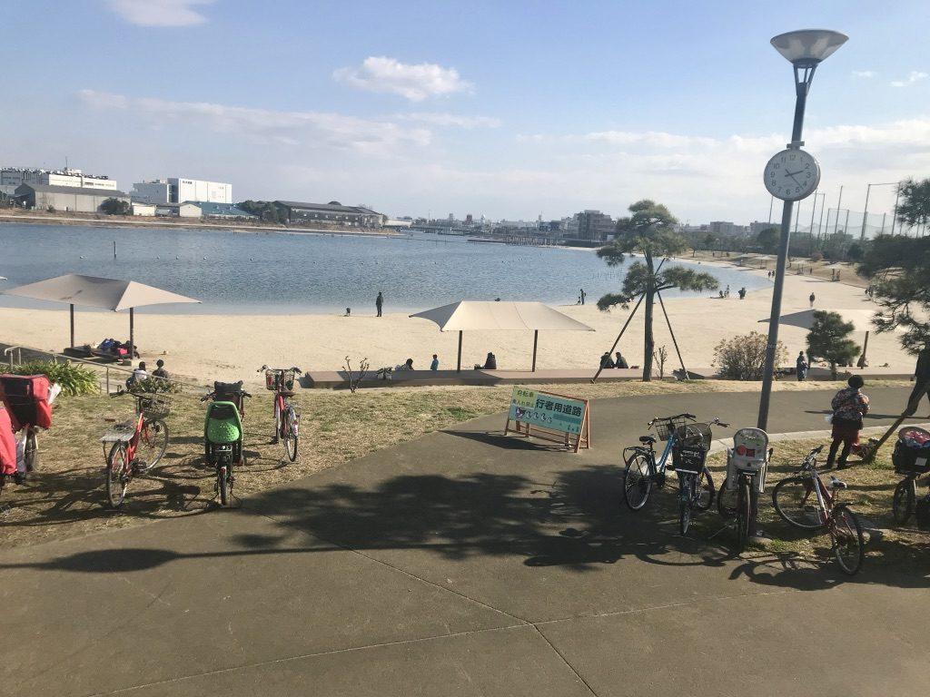 大田区の大森ふるさとの浜辺公園