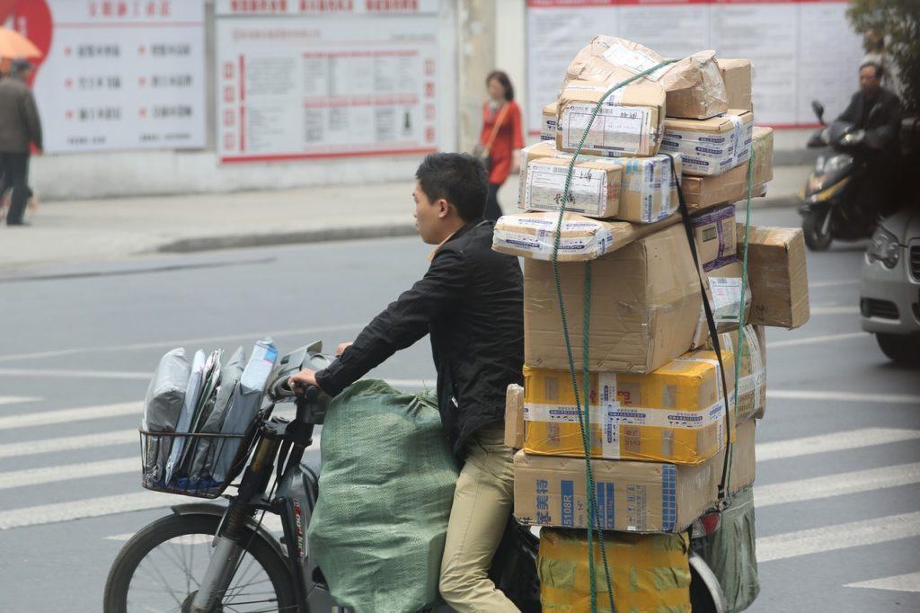 荷物が大きくて重いイメージ