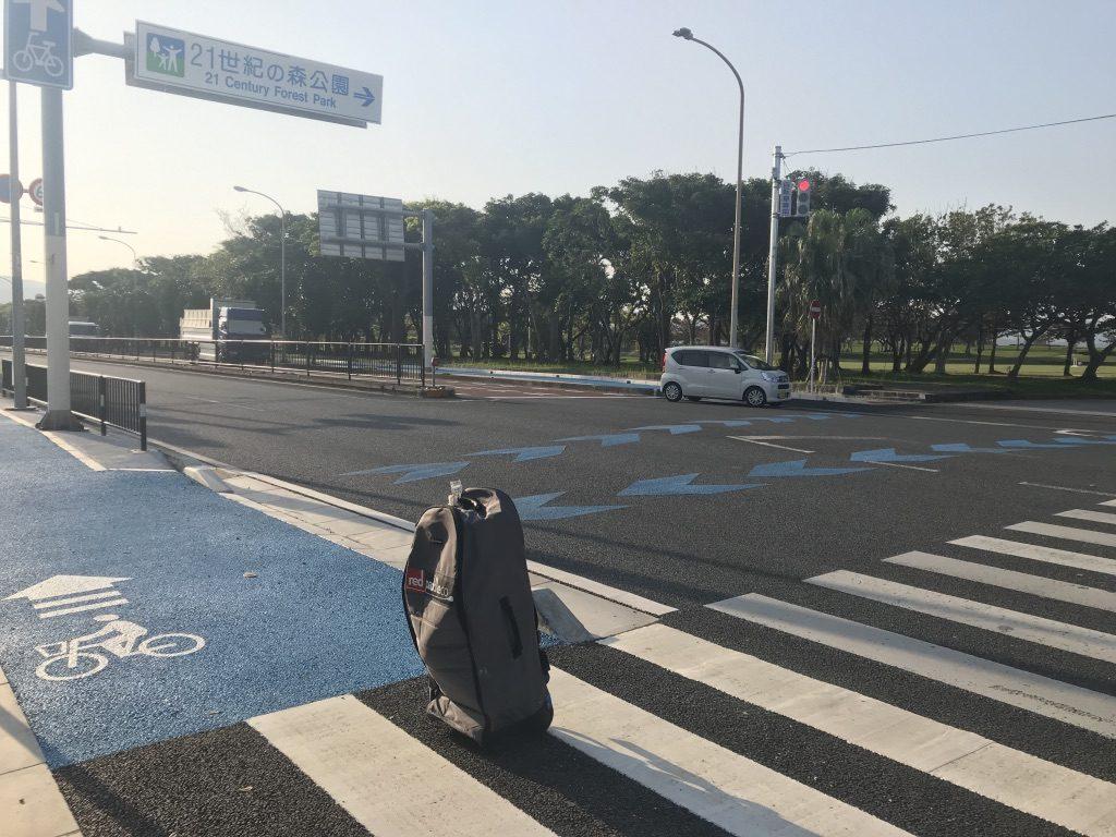 沖縄ふるさとワーキングホリデー中にSUPAベーシックインストラクター認定試験を受講する際の様子