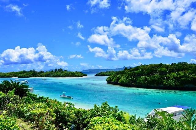 SUPに最適な石垣島の綺麗な海