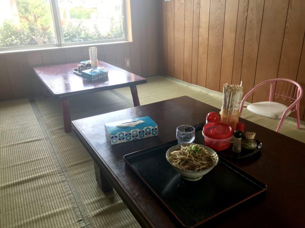 国頭村の食堂
