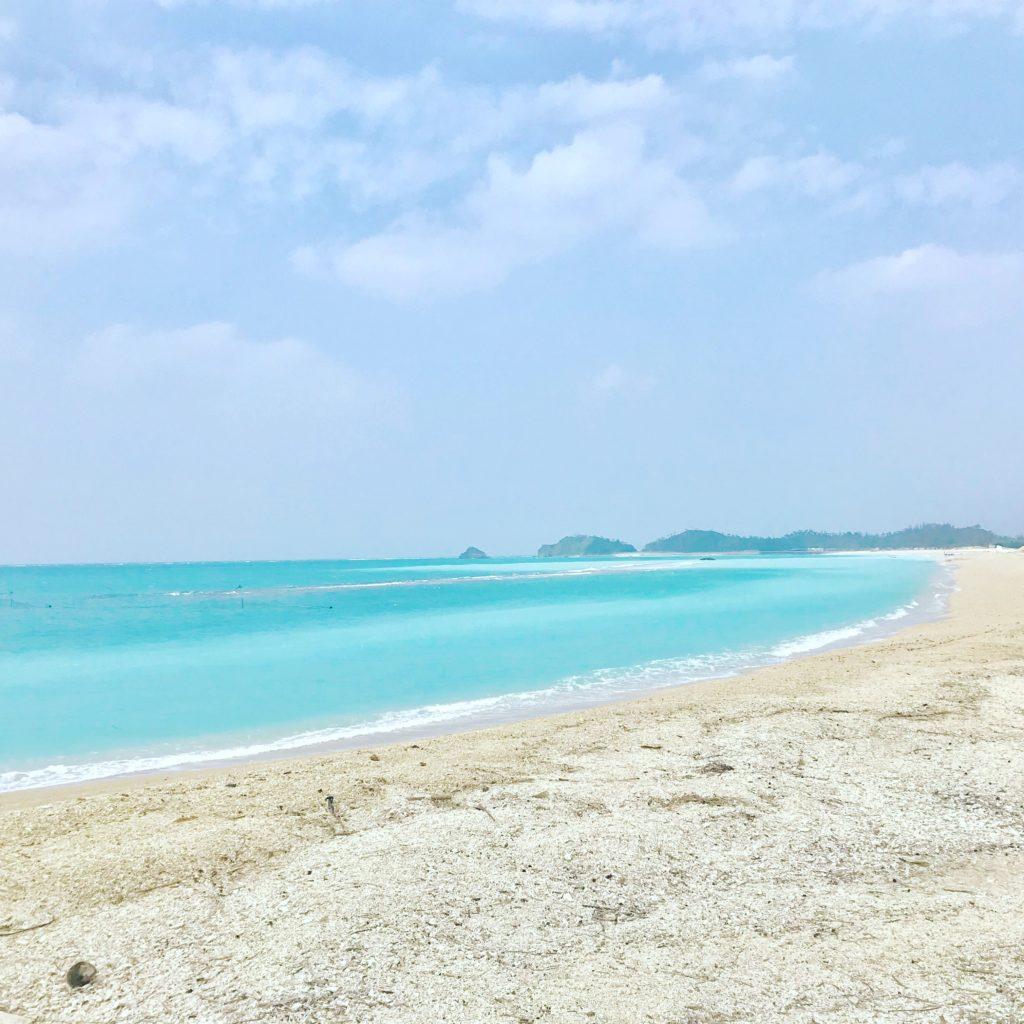 国頭村のオクマビーチ