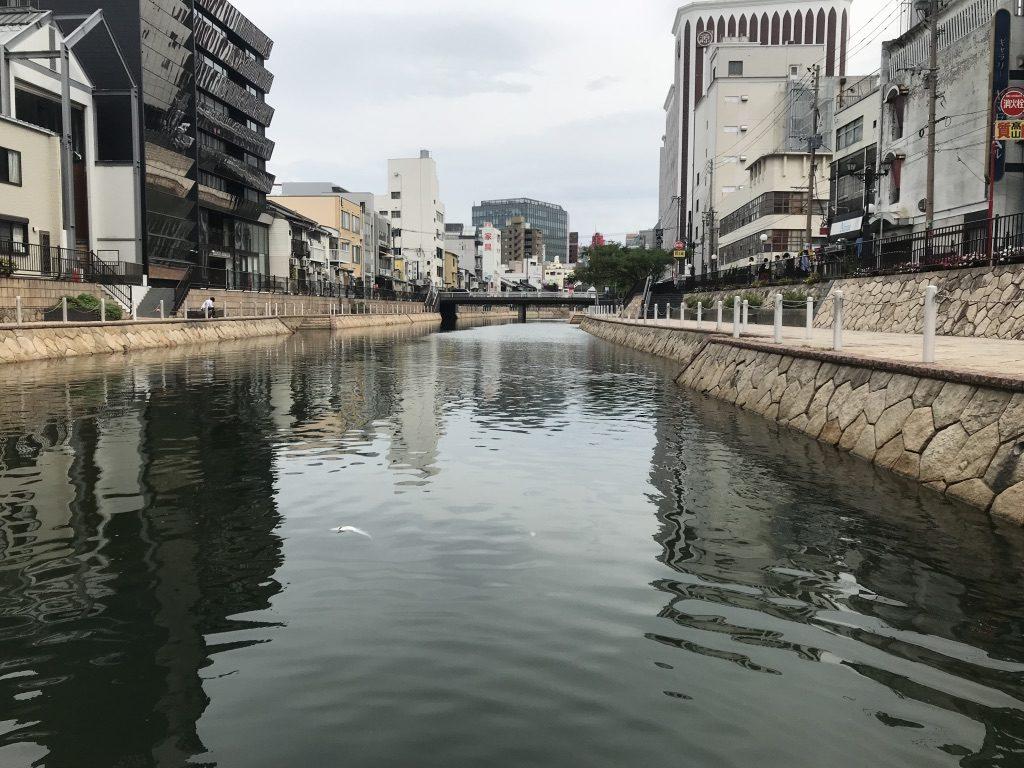 福岡・中洲でシティSUPした際