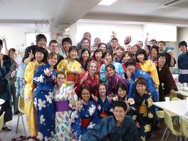 大学の留学生寮。ちなみにこの数年後に奥さんもこの寮で日本語を学びました(当時出会ってない)
