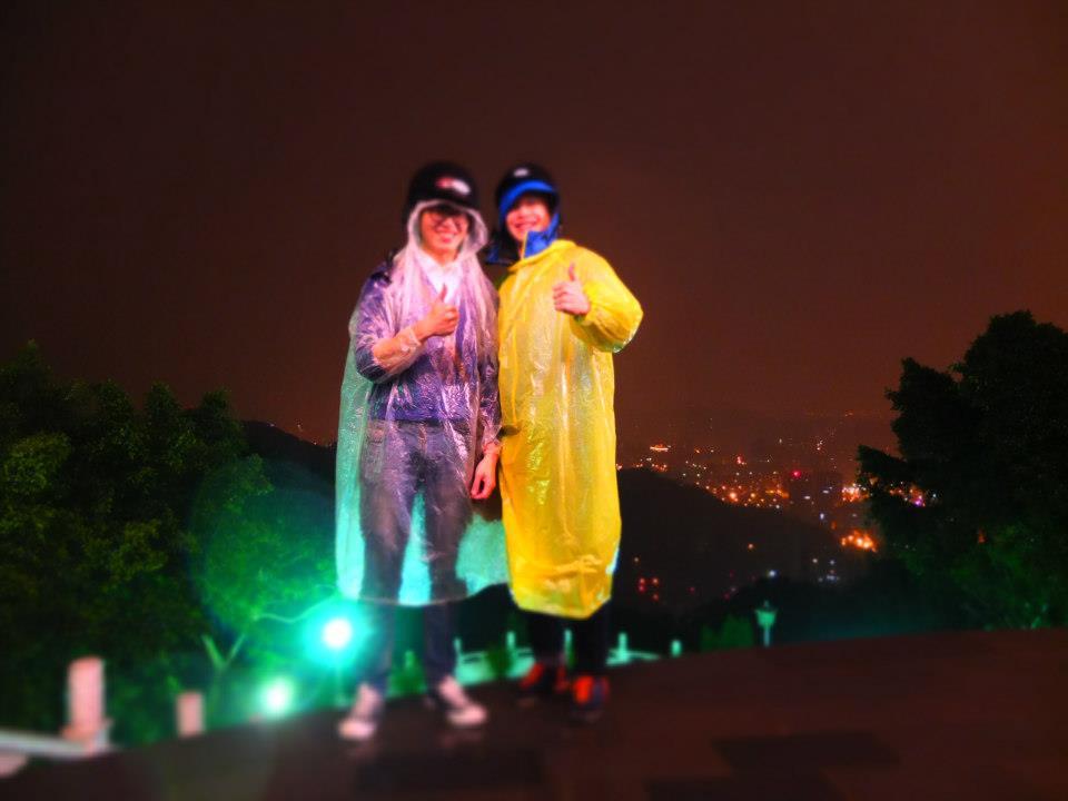 台湾の友達と夜景を行った時。2014年ごろ。