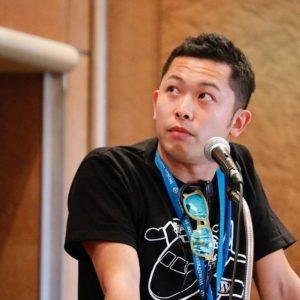 WordCamp Hanedaで講演したオサナイ