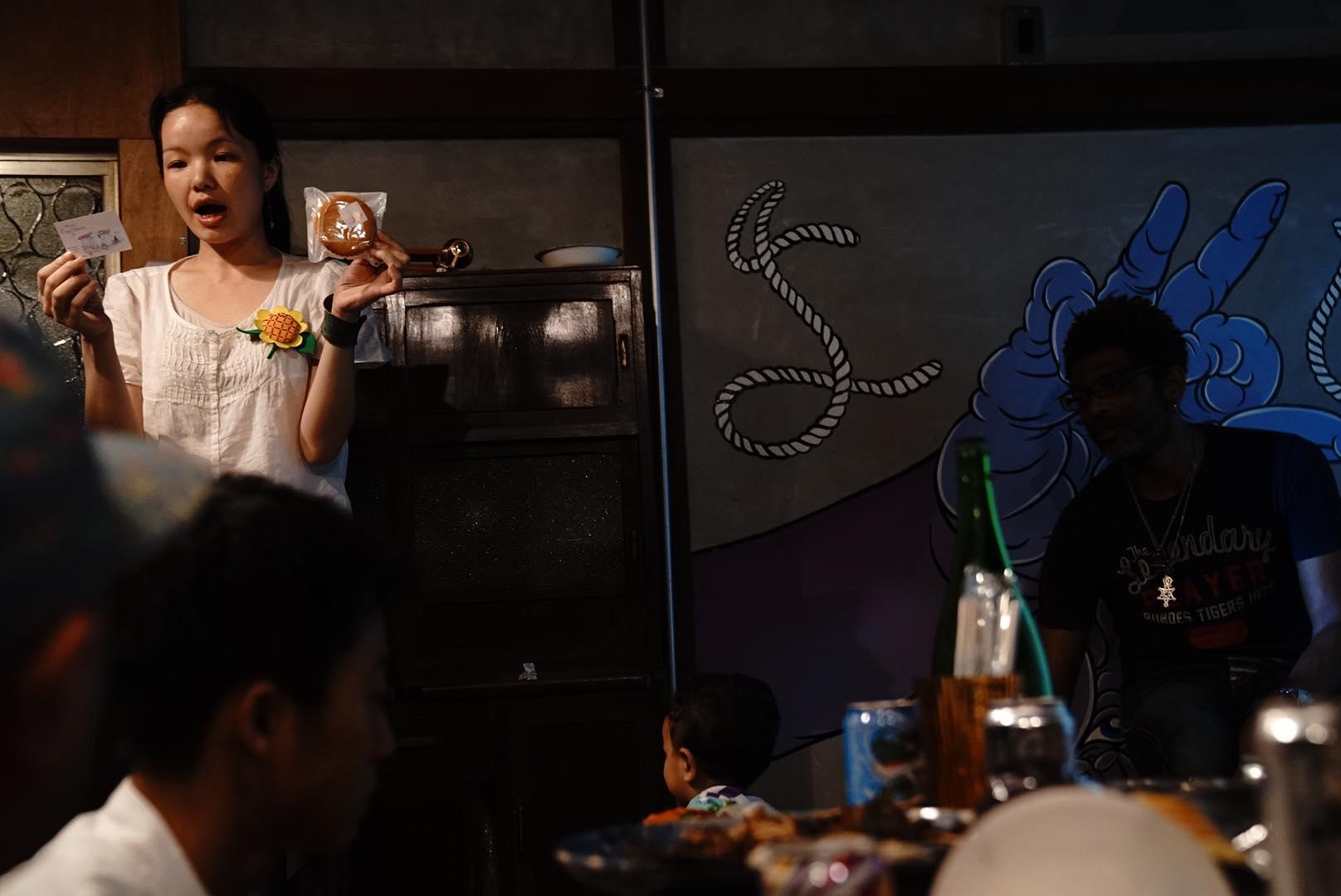 大田区Meetup@YOICHIでのLTコーナーの様子