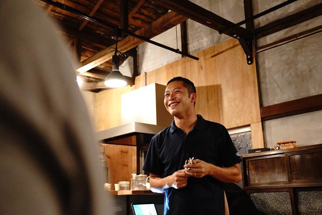 大田区Meetup@Yoichiの様子。オサナイは司会です。