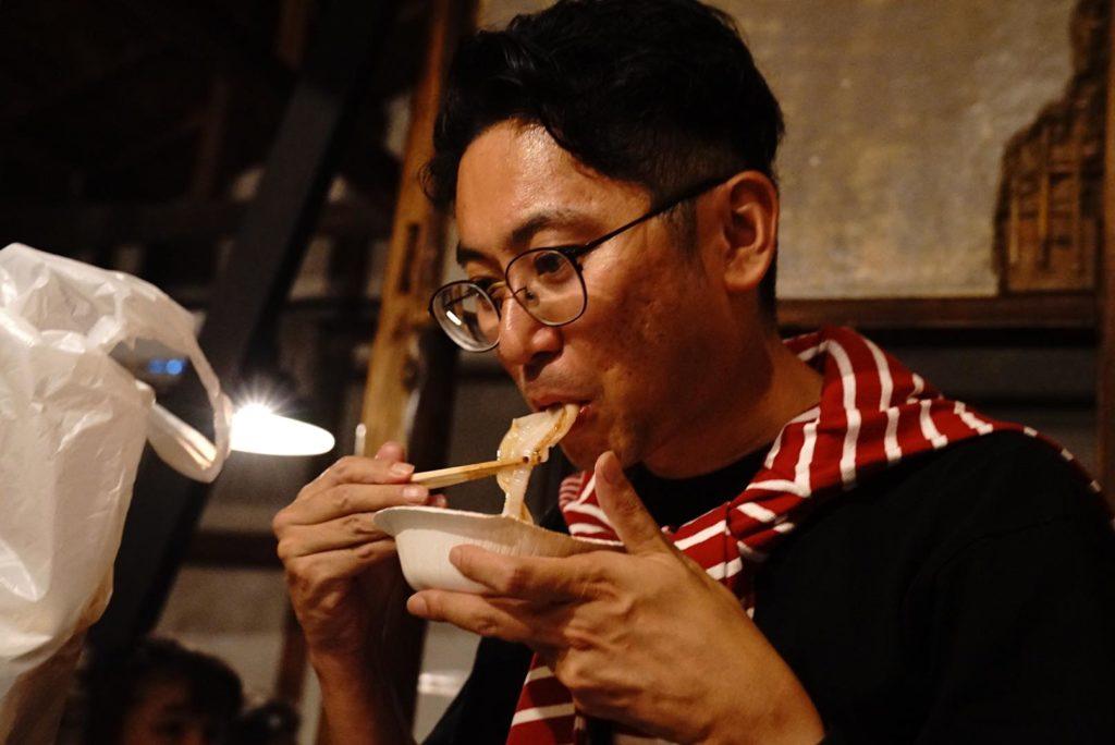大田区Meetupで食した下北のホタテ
