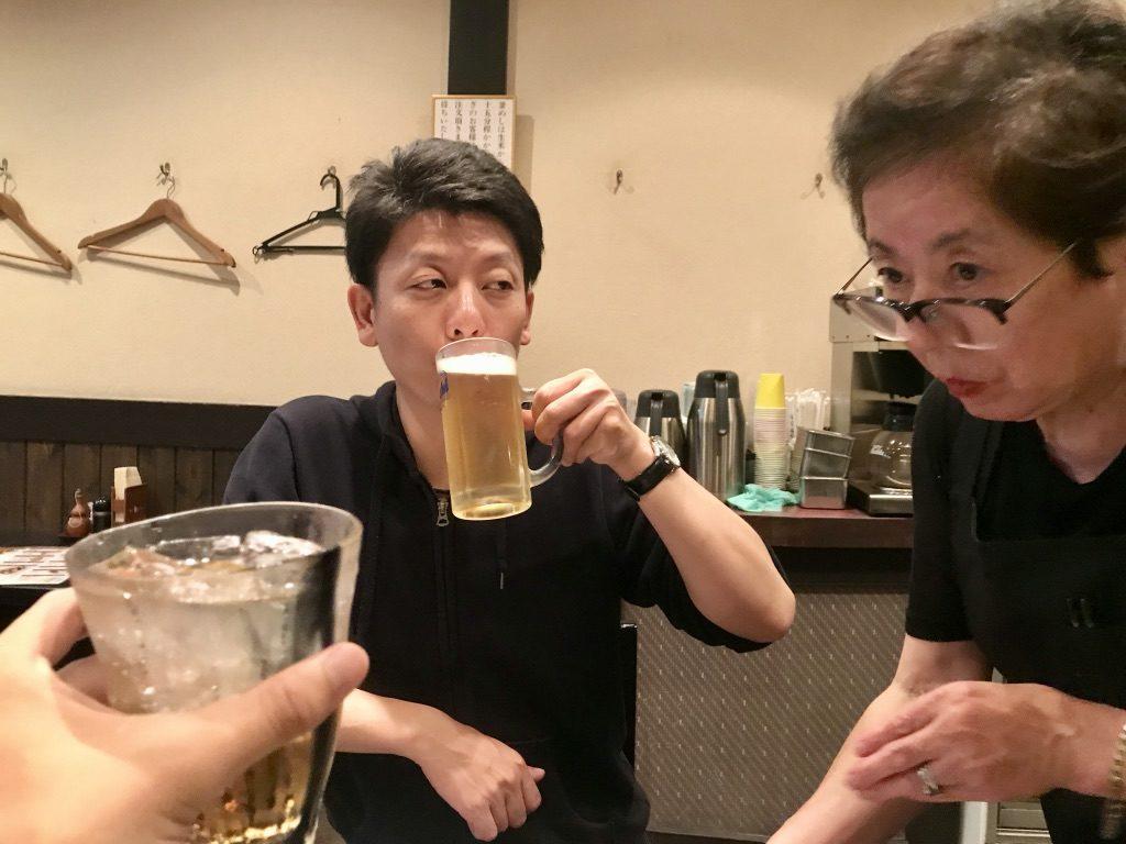 出張前に東京滞在!奥さんと会ってから、池上で飲んできたぞ!