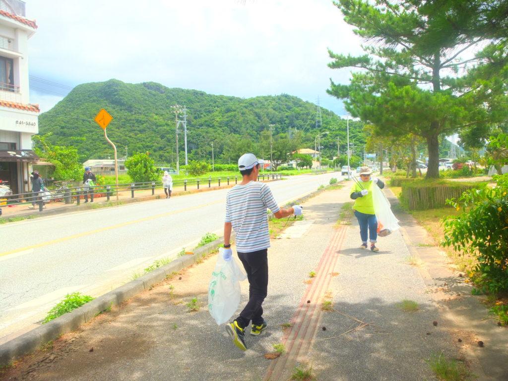 クリーンキャンペーンに参加!国頭でゴミ拾いしてたら、素敵な景色に出会えました!