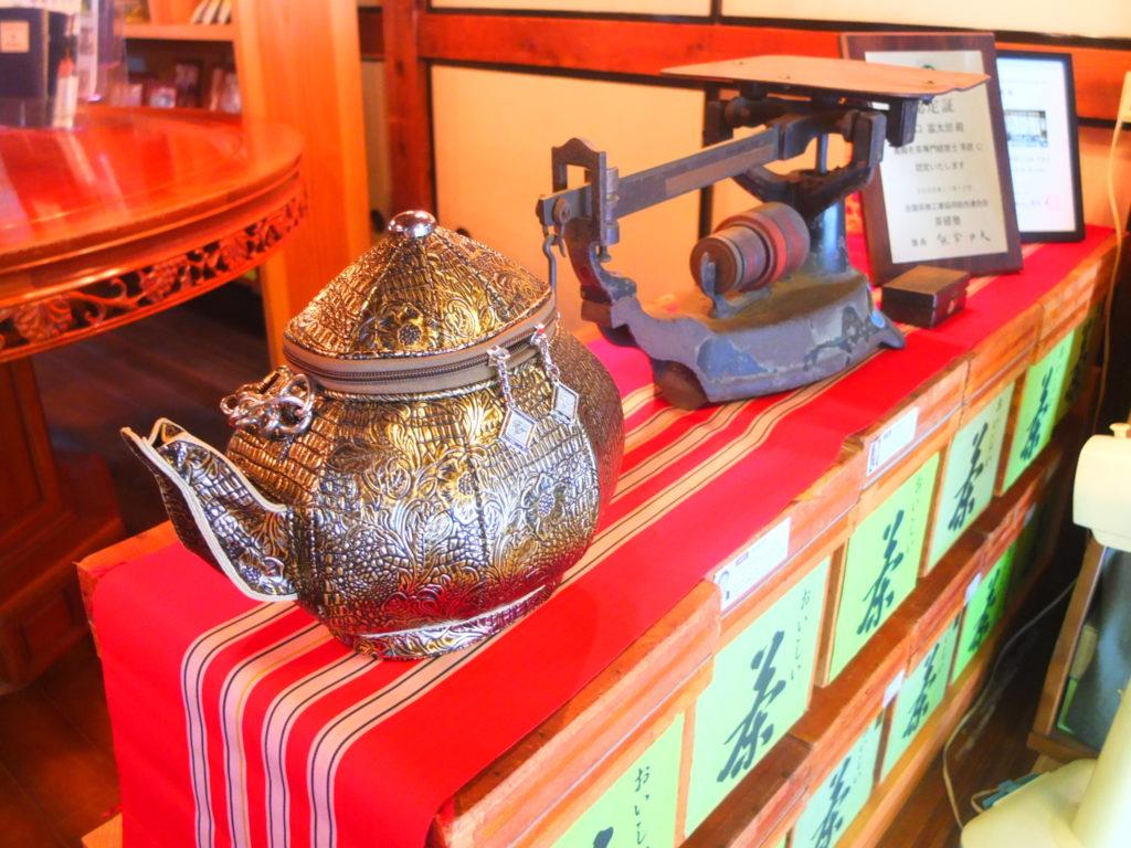 築100年以上の古民家、野口茶本家でさしま茶ランチ