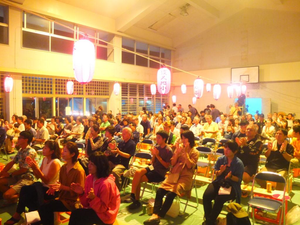 沖縄本土最北端に位置する国頭村。その集落の1つ、伊地の豊年祭の様子