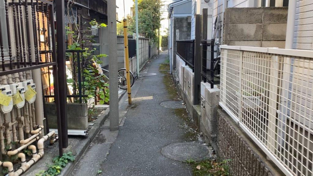 羽田のキッチン付きレンタルスペースYOICHIまでの道