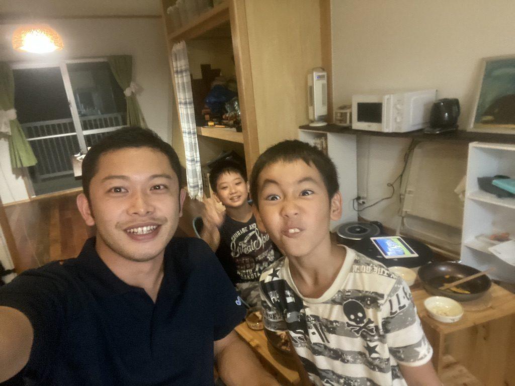 国頭村の子どもたちとサムギョプサルパーティ