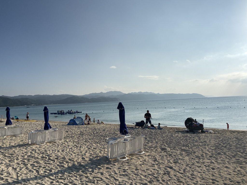 オクマレストセンター/Okuma Beach(米軍ビーチ)でSUPクルージング