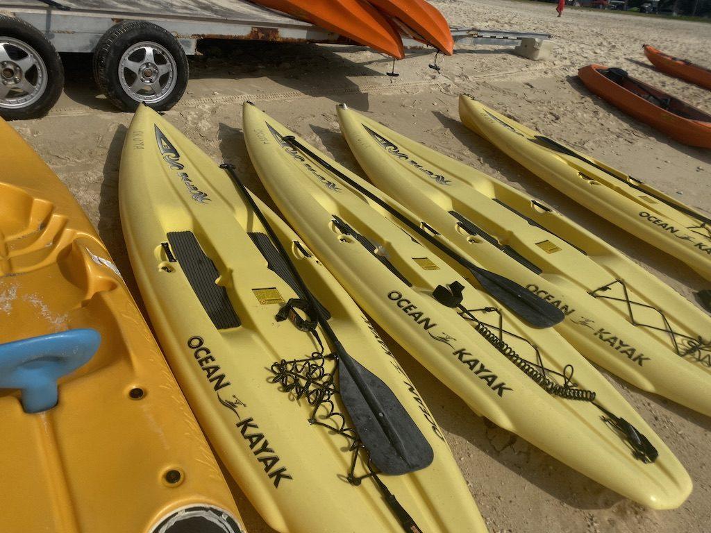 オクマレストセンター/Okuma Beach(米軍ビーチ)でSUPをレンタル